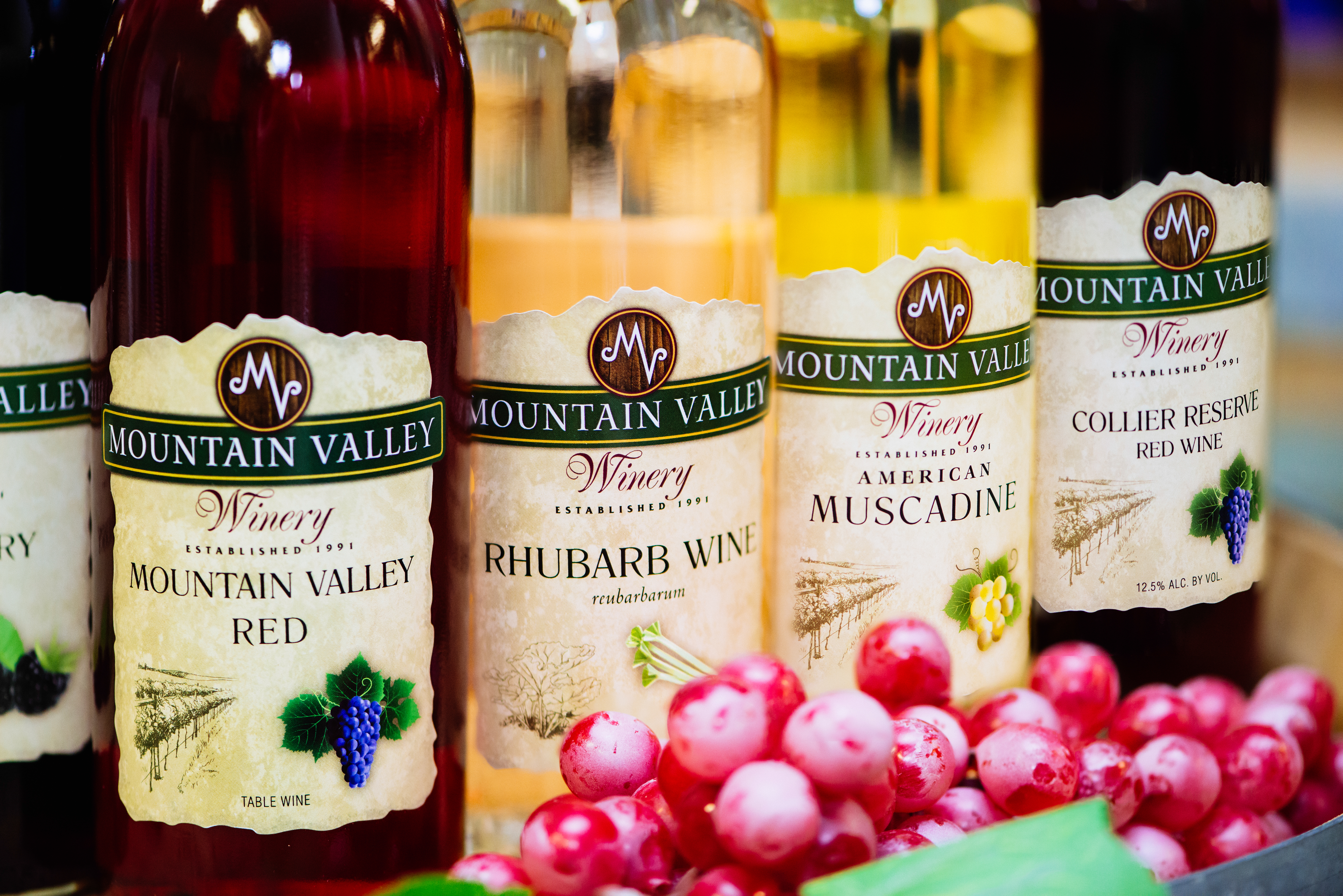 Mountain Valley Bottle Line-up
